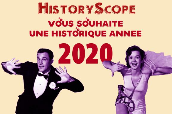 Historique année 2020 !