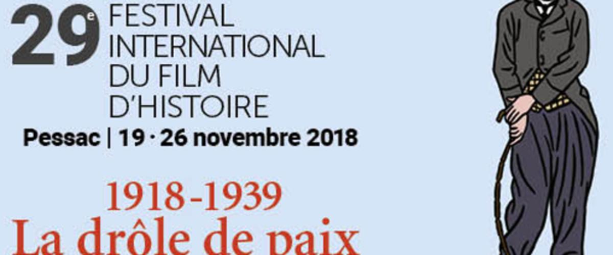 """""""Festival du film d'Histoire"""" de Pessac 2018"""